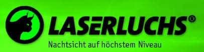 Markenseite der Firma: Laserluchs