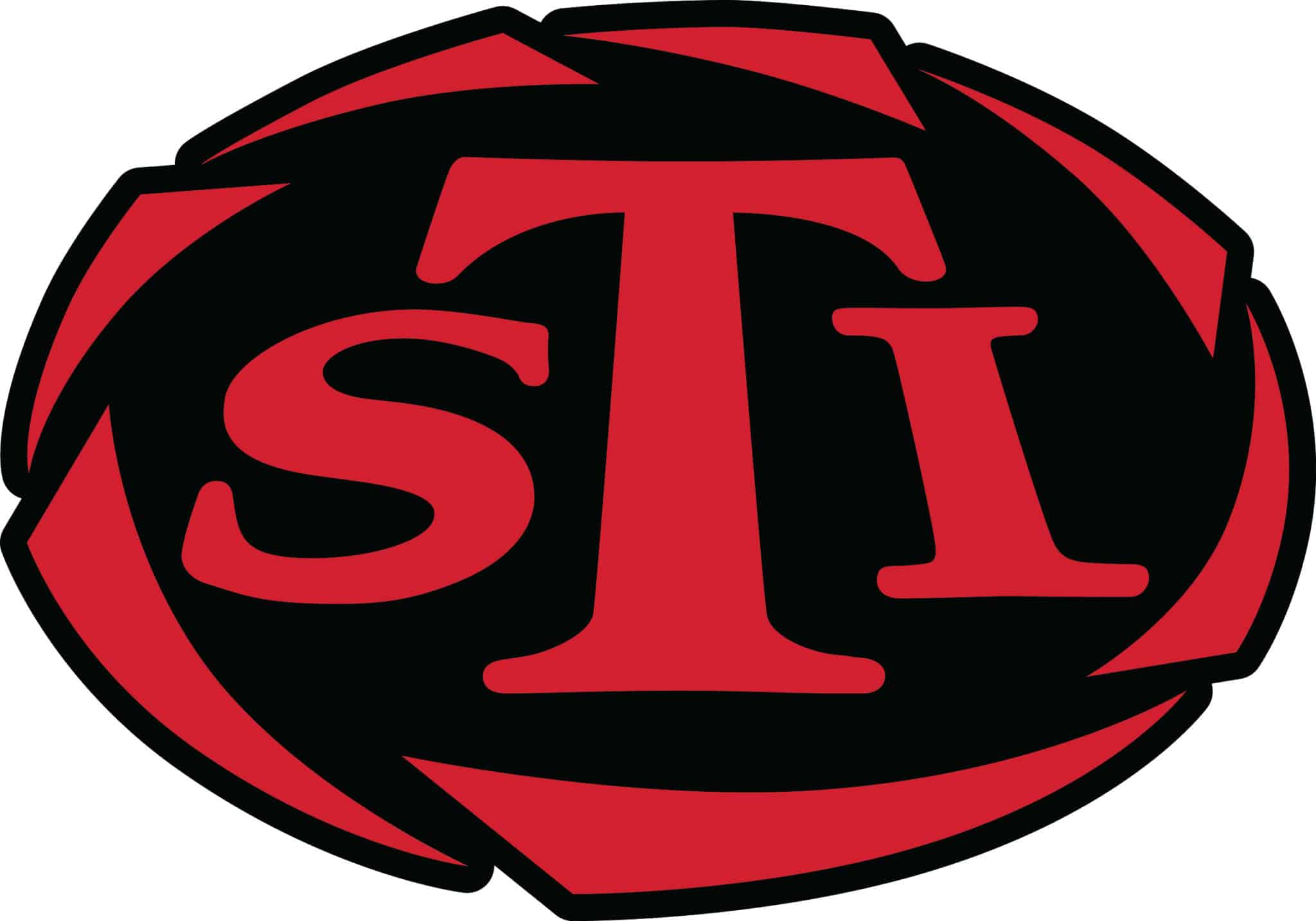 Markenseite der Firma: STI International