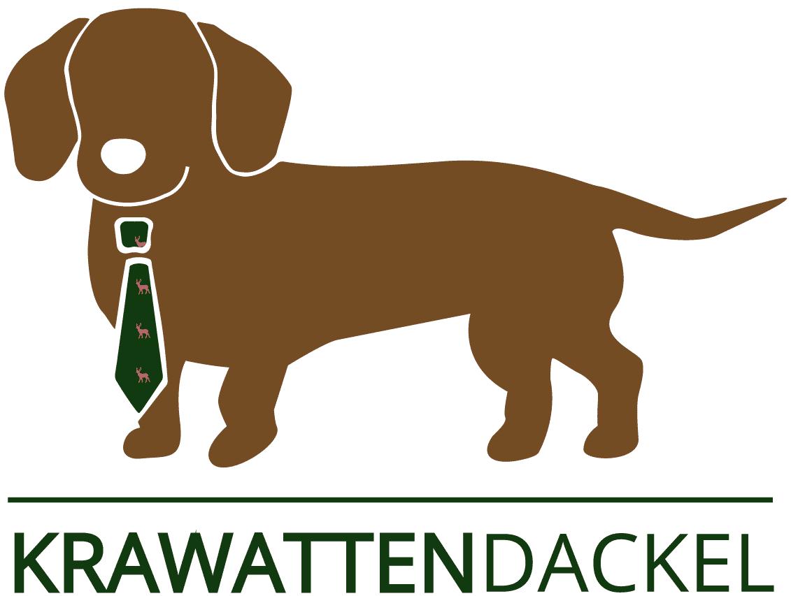 Markenseite der Firma: Krawattendackel